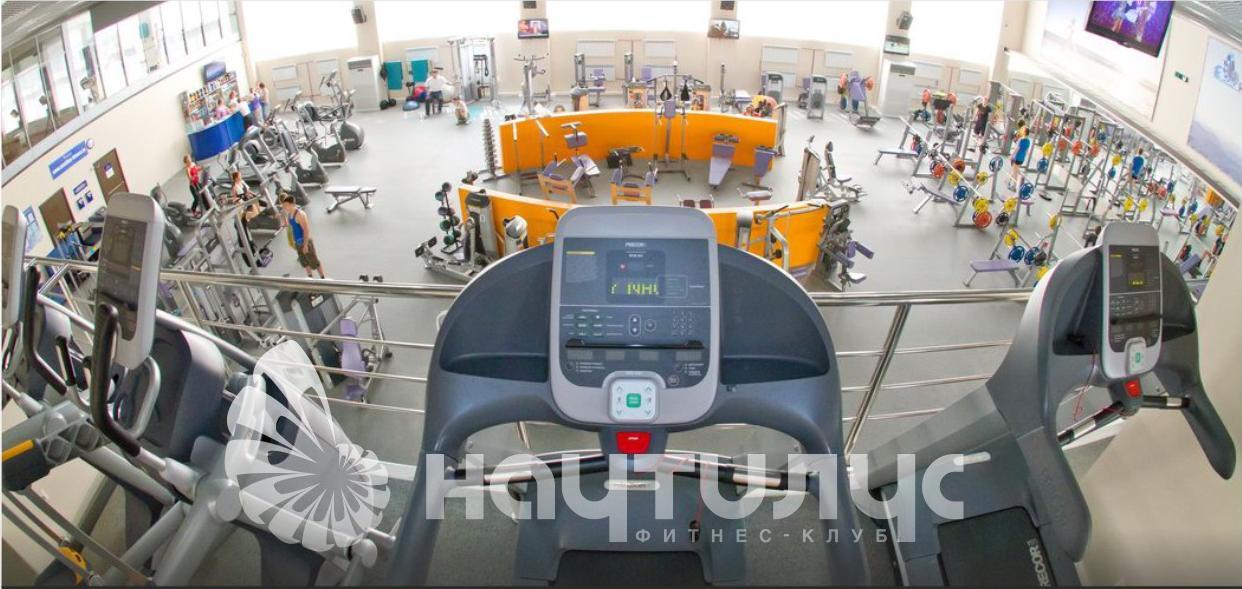 Фитнес-клубе наутилус в южном микрорайоне гхабаровска